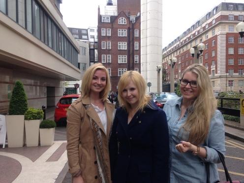 Caroline, Nikki and Harriet