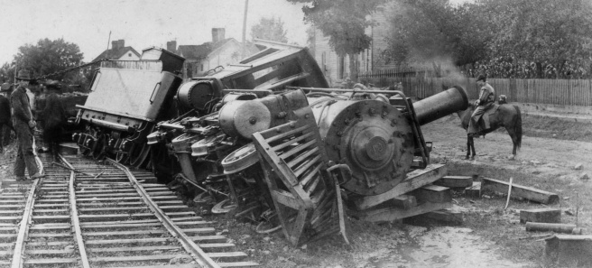 First google image search for 'Trainwreck'